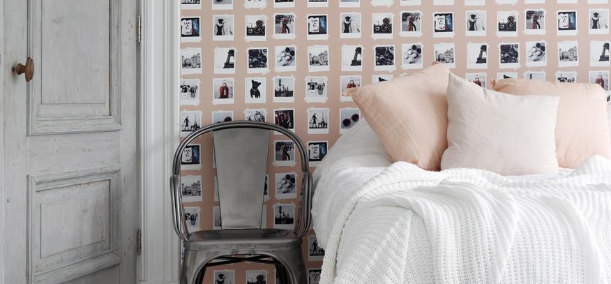 Modern Behang Slaapkamer.Behang Slaapkamer Behangloods