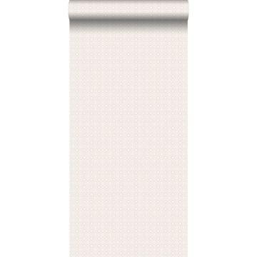 behang kant-motief zacht roze van ESTA home