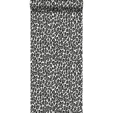 behang panters zwart en wit van ESTA home