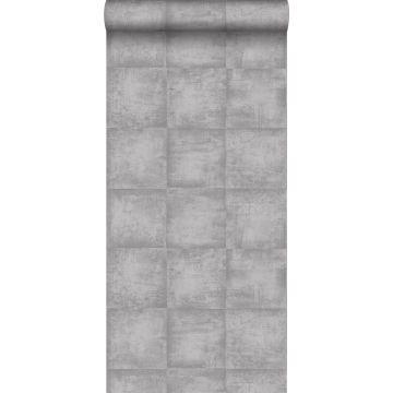 behang betonlook grijs van ESTA home