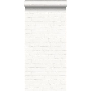behang bakstenen gebroken wit van ESTA home