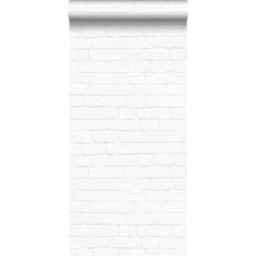 behang bakstenen wit van ESTA home