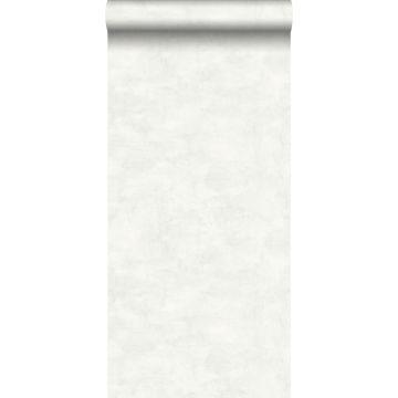 behang betonlook licht warm grijs en mat wit van ESTA home