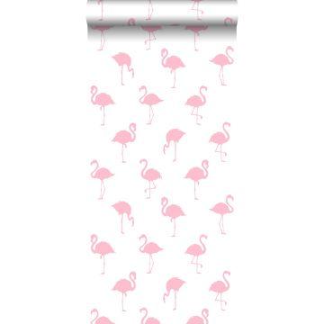 behang flamingo's roze en wit van ESTA home