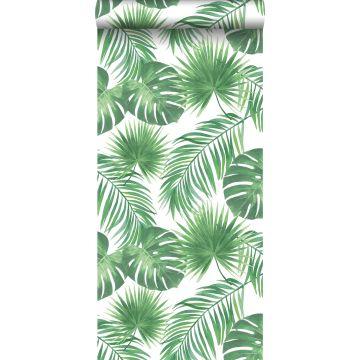 behang tropische bladeren groen van ESTA home