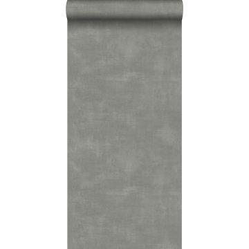 behang betonlook donkergrijs van ESTA home