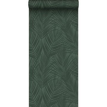 ESTAhome behang palmbladeren donkergroen