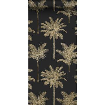 behang palmbomen zwart en goud van ESTA home