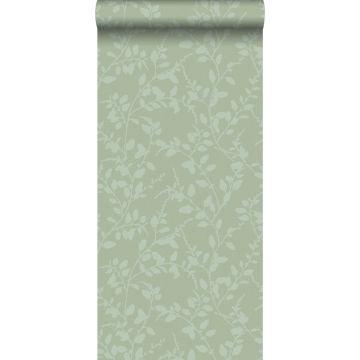 behang bladmotief groen van ESTA home