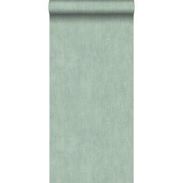 behang geschilderd effect celadon groen van ESTA home