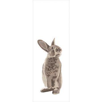 ESTAhome fotobehang konijn bruin