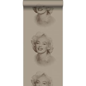 behang Marilyn Monroe glanzend brons van Origin