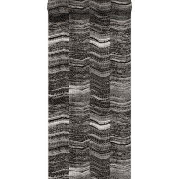 behang marmer motief zwart van Origin