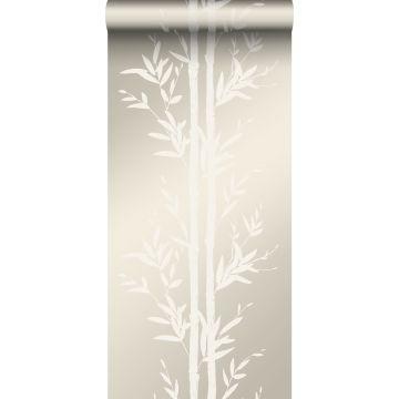 behang bamboe gebroken wit van Origin