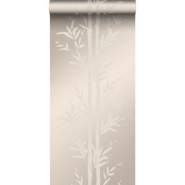 behang bamboe warm zilver van Origin