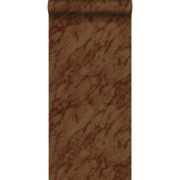 behang marmer roest bruin van Origin