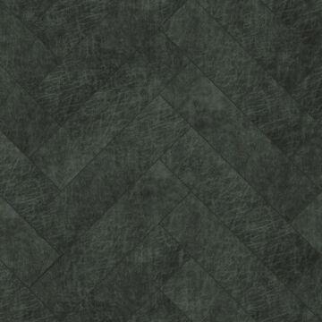 Origin zelfklevende eco-leer tegels visgraat-motief antraciet grijs